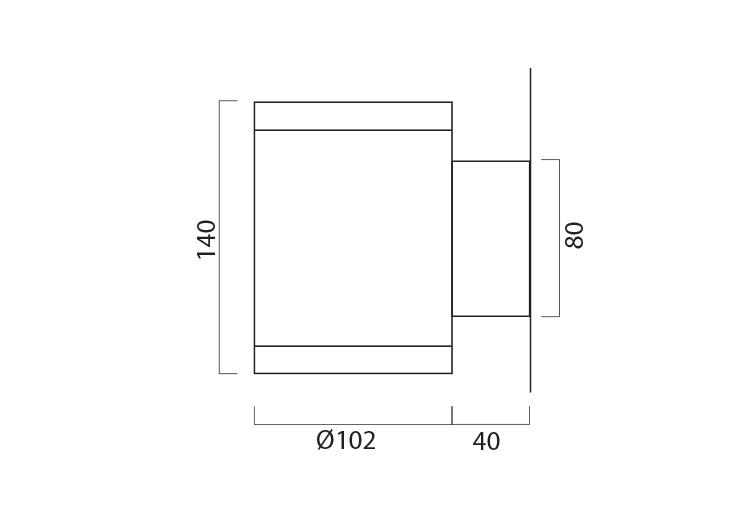 Civic X102 Line Drawing